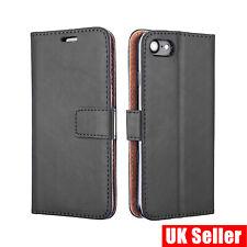 iPhone 8 Book Phone Case Leather Wallet cover Slim Flip Folio Protective Case UK