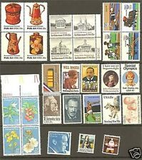 US 1979 Commemoratives Year Set with 29 Stamps MNH