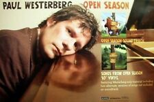 Paul Westerberg 2006 open season promo poster The Replacements New Old Stock