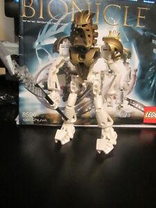Lego Bionicle 8596 Takanuva Figure + Instruction + HTF Gold Mask