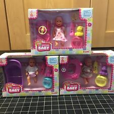 Simba Mini New Born Baby 3 x Sets Included