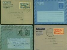 India - Aerogramme. Lot of 4 Air Letter to India / USA........(VG) MV-8572