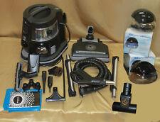 RAINBOW E2 E4 VACUUM BLACK NEWEST MODEL w/2 exclusive air purifiers& turbonozzle