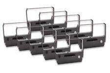 10x Cinta de Impresora Negro Nylon para Wincor Nixdorf 01750075523,10600203761