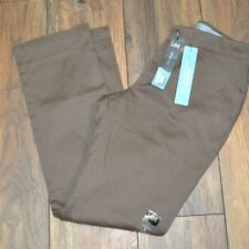 Lee Motion Serie Marrón Pantalones Eased Fit Total Freedom Cinturilla Talla 4P