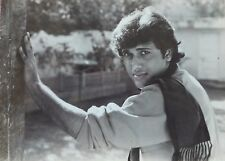 Black & White Photograph Bollywood Movie Tohfa Mohabbat Ka Actor Govinda (P573)