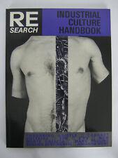 RE/Search Industrial Culture Handbook #6/7 Andrea Juno 1983 Throbbing Gristle