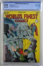 WORLD'S FINEST COMICS #16 CBCS 7.5 Superman Batman 1944 CGC