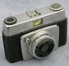 1959 Vintage Ilford Sportsman 35mm Camera in Original Leather Case, Parts, Repai