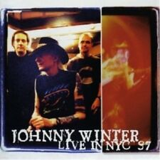 JOHNNY WINTER - LIVE IN NYC '97  CD 9 TRACKS BLUES ROCK / INTERNATIONAL POP NEW+