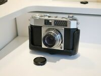 Olympus Wide E 35mm Viewfinder camera w/D. Zuiko 35mm 3.5 RARE