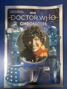 BBC Doctor Dr Who Bookazine 2021, The Doctor Who Chronicles 1975