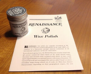 65ml Renaissance Micro-Cristalline Wax Polish Wachs Politur