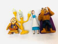 Beauty and the Beast Toy Figures Just Toys Bendable Bend Ems & McDonalds Beast