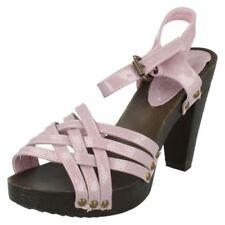Decolté e sabot da donna cinturini, cinturini alla caviglia rosa sintetico