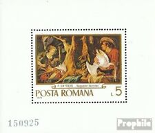 Roemenië Blok 78 ongebruikte 1970 Schilderijen