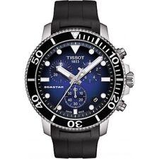 NEW TISSOT SEASTAR 1000 QUARTZ CHRONO BLUE T1204171704100 T120.417.17.041.00
