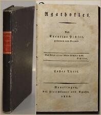 Pichler Agathokles Erster Theil 1816 Geschichte altes Griechenland Tyrann sf