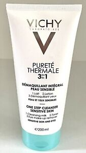 Vichy Purete Thermale 3 in 1 One Step Cleanser Milk Toner Makeup Remover 200ml