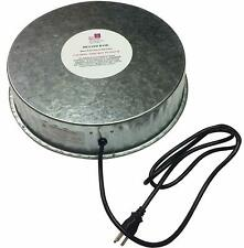 FARM INNOVATORS HEATED ELECTRIC BASE FOR CHICKEN BIRD POULTRY WATER BOWL HP125
