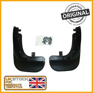 GENUINE VW CADDY TOURAN FRONT LEFT & RIGHT MUD FLAPS 1T0075111