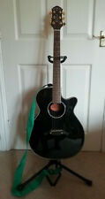More details for crafter electro acoustic guitar fx-550ewq p + stand + case + books + tuner