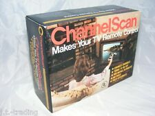 """*New Old Stock* VINTAGE TV REMOTE CONTROL """"CHANNELSCAN"""" Dial-Tube Television"""