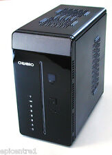 Chenbro Mini Atx Home Server Funda NAS en torre Chasis es30068 con PSU