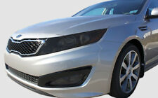 FITS: 11-13 Kia Optima Complete head and tail light tint cover vinyl overlays