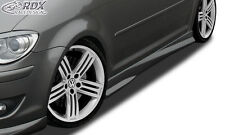"RDX retrasadas VW Touran 1t 1t1 1t2 1t3 faldones ""Turbo-R"" set alerón"