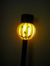 Solar Pumpkin Lights - Set of 6