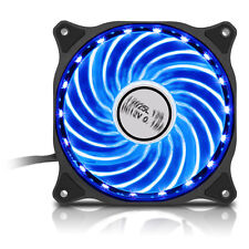 Juego Max 7 Colour RGB LED 12cm 120mm Pc Estuche Ventilador de refrigeración 1200rpm, 33cfm