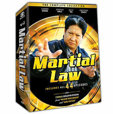 Martial Law . The Complete Series Collection . Season 1 2 . 10 DVD . NEU . OVP