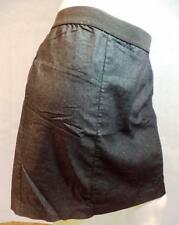 Lane Bryant Skirt Plus Size 28 Denim Like Fabric Grey EUC