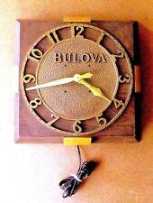 VINTAGE ART DECO BULOVA JEWELRY STORE ELECTRIC CLOCK
