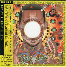 FLYING LOTUS-YOU' ARE DEAD!-JAPAN CD E78