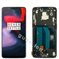 For OnePlus 6 A6000 A6003 LCD Display Touch Screen Digitizer Assembly± Frame