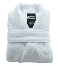 Terry Towelling Bath robe Dressing Gown Hotel Quality Turkish Cotton with Belt