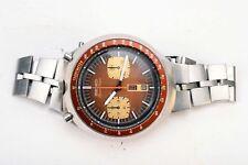 RARE Vintage Seiko velocità TIMER 6138-0040 Day Date Orologio Cronografo Automatico