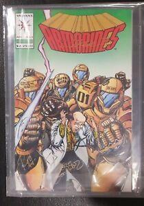 Armorines #1 (1994 1st Series Valiant) VVSS  (Limited to 1,200) Validated Series