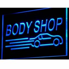 i821-b Body Shop Auto Car Display NEW Neon Light Sign