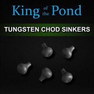 Tungsten Chod sinkers, Large -  carp fishing