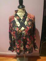Aratta Luxury Blouse Rayon Size XL