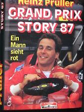 Orac Book Grand Prix Story 87 Ein Mann sieht rot Heinz Prüller (Deutsch)