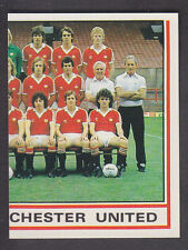 Panini - Football 81 - # 197 Manchester United Team Group