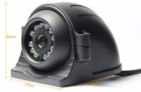 4 Pin Heavy Duty CCD IR Color 12 LED Side View Camera 700 TVL for Truck RV Bus