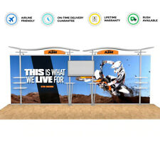 20ft portable custom trade show display booth EXPO all included