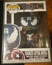 Funko Pop Marvel Venom: Venomized Captain America Bobble-Head #364