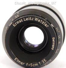 Ernst Leitz Wetzlar Elmar f=5cm 1:3.5 + DOORX + DOOGS Enlarger Macro Lens M39