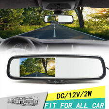 """4.3"""" TFT LCD Display Monitor Rearview Mirror Rearview Mirror Auto Car DVD"""